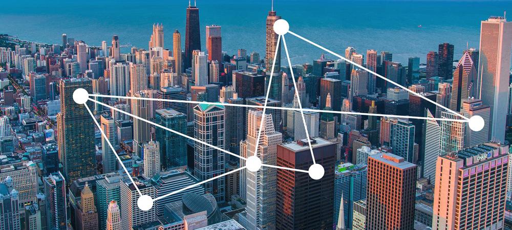 Chicago blockchain business nodes example